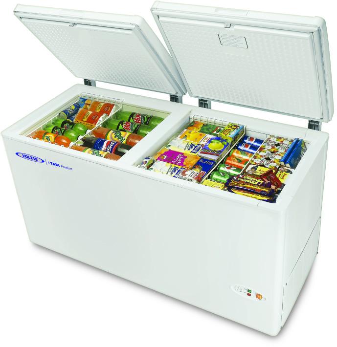 voltas glass door refrigerator | Deep Freezer | Glass Top