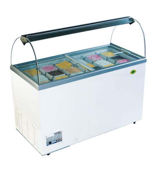 Products Deep Freezer Glass Top Freezer Island